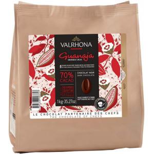 Valrhona Choklad Guanaja 70%, 1 kg
