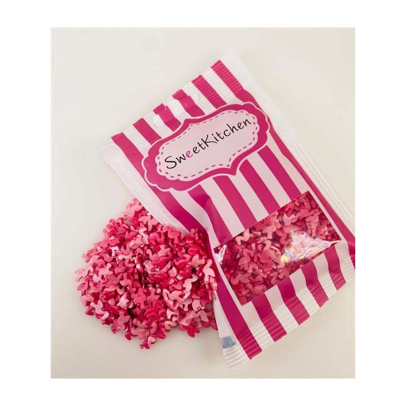 Flamingo strössel, SweetKitchen
