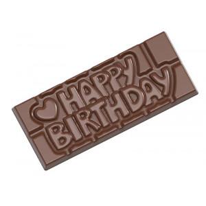 Pralinform chokladkaka - Happy Birthday - Chocolate World