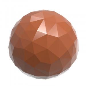 Chocolate World Pralinform Fasett Sfär Ø 25,5 mm