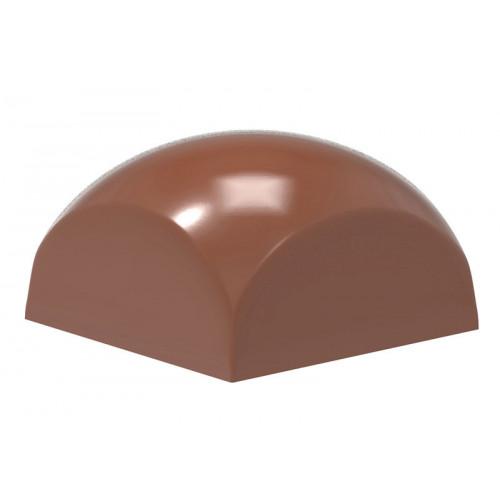 Chocolate World Pralinform Kvadratisk Sfär