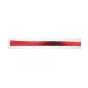 Gum Paste Wire, metalltråd, metallicröd - Culpitt