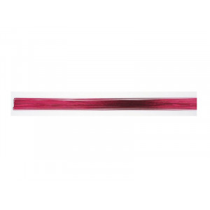 Culpitt Gum Paste Wire, metalltråd, metallic cerise