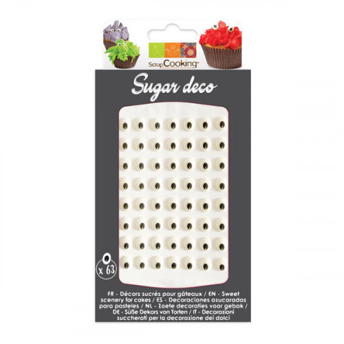 ScrapCooking - Sockerdekorationer Ögon