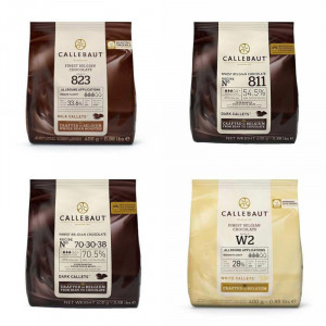 Callebaut choklad 4 sorter