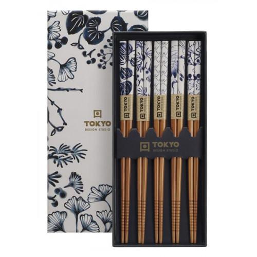 Tokyo Design Studio Ätpinnar, rostfritt stål, blomma