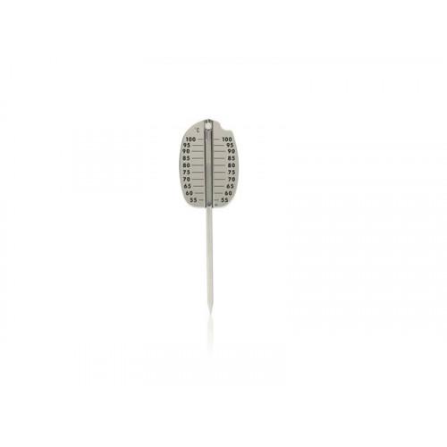 Stektermometer rostfritt stål - Plus
