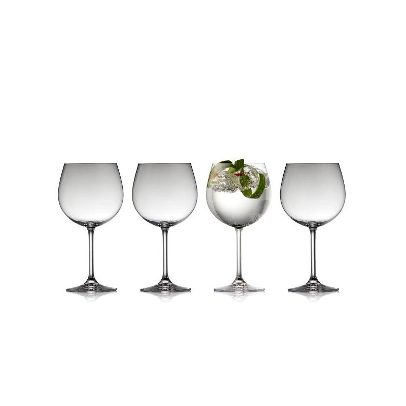 Lyngby Glas - Juvel Gin & tonic glas 4 st