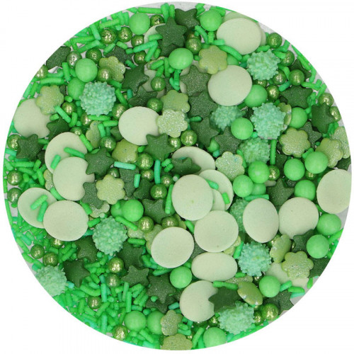 Grön Medley Strössel - FunCakes