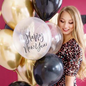 Ballonger Happy New Year, Crystal Clear