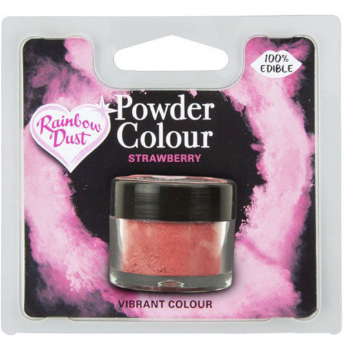 Rainbow Dust - Pulverfärg Jordgubb