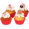 Christmas Sockerdekorationer - FunCakes