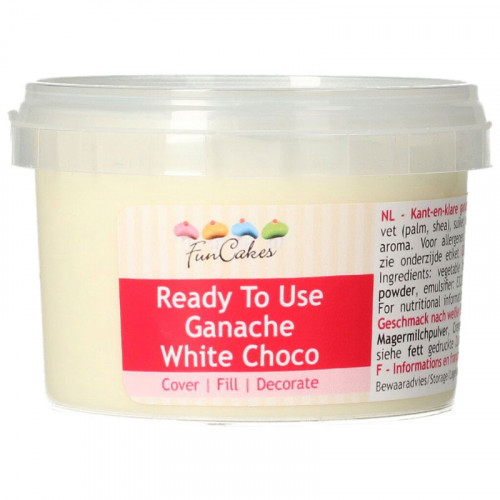 Ganache White Choco - FunCakes