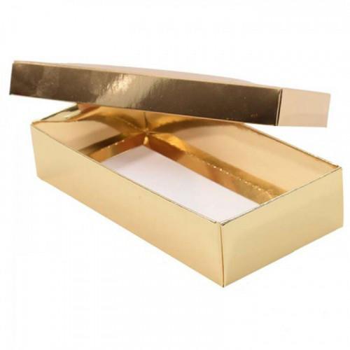 Pralinask i Guld- 8 praliner - 3 pack