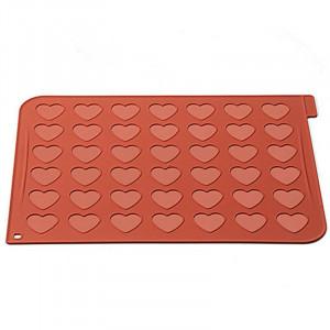Macaronmatta - Hjärta - 30 x 40 cm