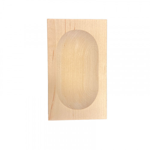 Hasselbackspotatis fat - Björk - 12 x 7 cm