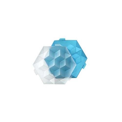Lékué Isform Giant Ice Cube, blå