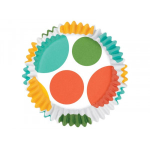 Wilton Muffinsform Color Cups, Dots