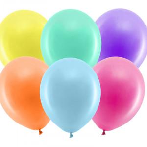 Rainbow ballonger, Pastell Mix 100-pack, 30cm