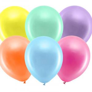Rainbow ballonger, Metallic Mix 100-pack, 30cm