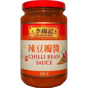 Chili bean sauce från lee kum kee.
