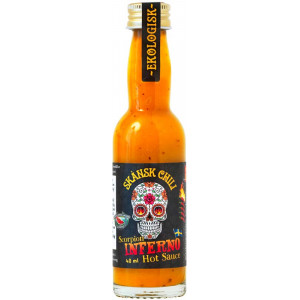 Scorpion Inferno XXXtra Hot Sauce, 40 ml