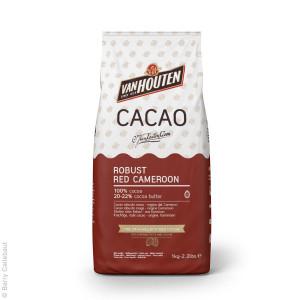 Robust Red Cameroon, Kakaopulver 1 kg- Van Houten.