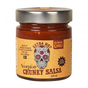 Scorpion Extra Hot Salsa, 225 ml.