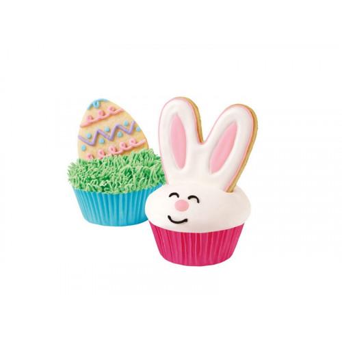 Kakformar Cookie cutter set, Bunny - Wilton