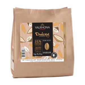 Valrhona Choklad Dulcey Blond, 1 kg