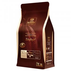 Vit Choklad Zéphyr 34% Cacao Barry