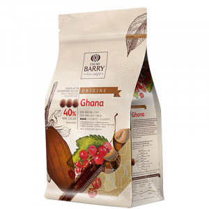 Cacao Barry - Ghana 40% Mjölkchoklad.