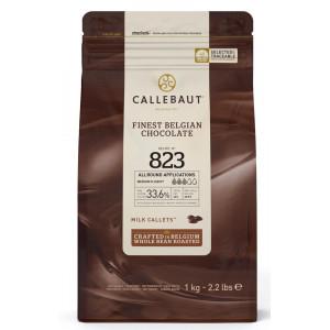 Callebaut Belgisk Mjölkchoklad 823, 1 kg