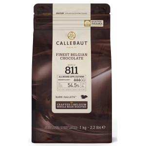 Chokladknappar mörk choklad 1 kg - Callebaut
