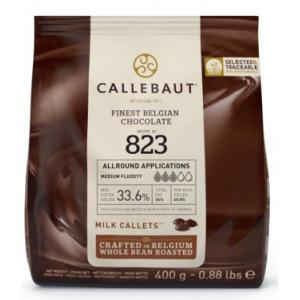 Chokladknappar mjölkchoklad 400g - Callebaut 823