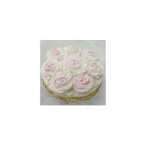 Karen Davies Silikonform, Rose Cupcake top mould