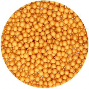 FunCakes Sockerpärlor mjuka, guld