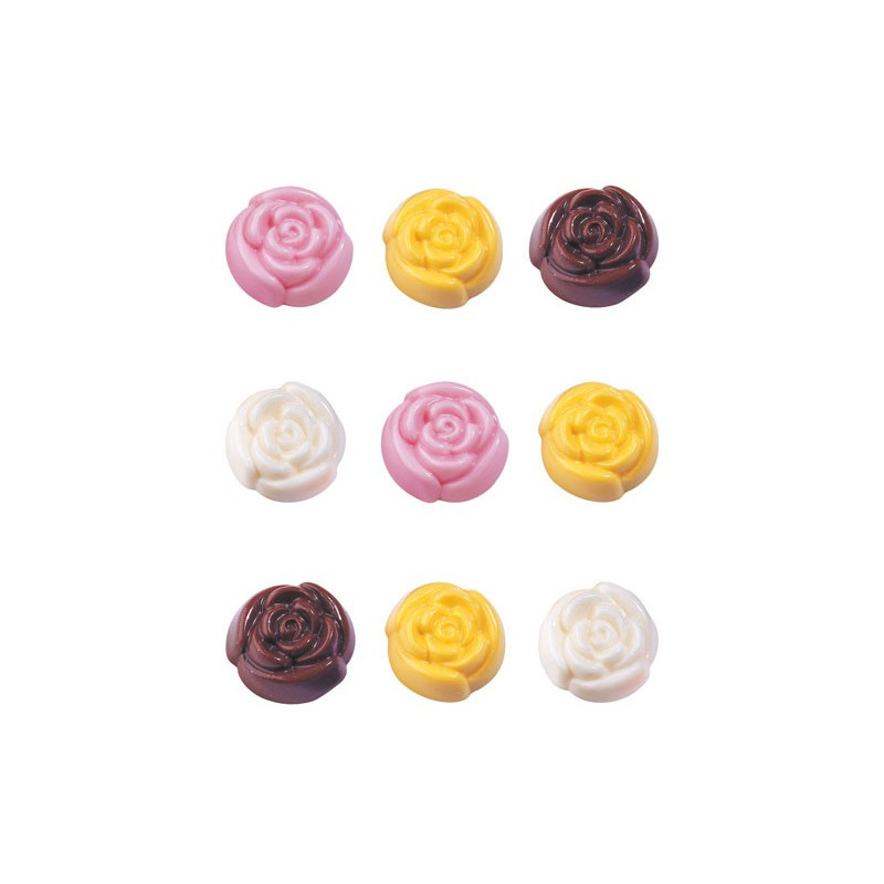 Roses in Bloom Candy Mold - Wilton