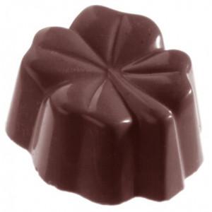 Pralinform Fyrklöver - Chocolate World