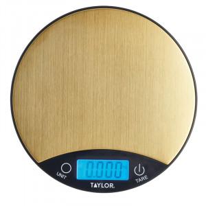 Digital våg 5 kg, Svary & Mässing - Taylor Pro.