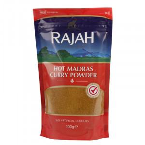 Curry Hot Rajah.