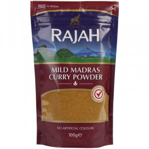 Curry powder Mild Madras Rajah.