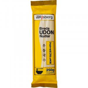 Udon Nudlar torkade - 250 gram.