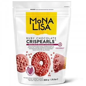 Crispearls - Rosa Choklad.