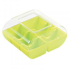 Macaron box, Ljus Grön - 6 stycken - Silikomart.