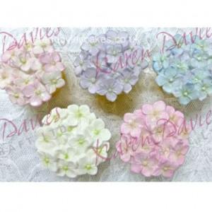 Karen Davies Silikonform, Hydrangea Cupcake top mould