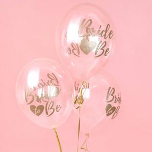 Ballonger Transparenta, Bride to be, 50 stk.