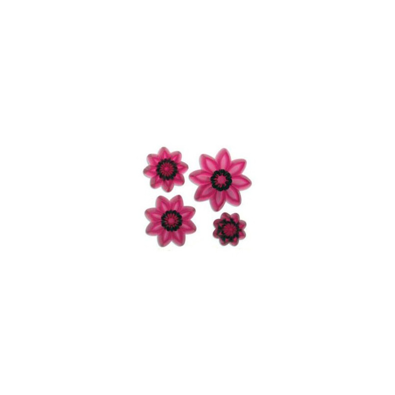 Utstickare Pointed eight petal daisy set - JEM