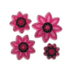 Utstickare Pointed eight petal daisy set - JEM