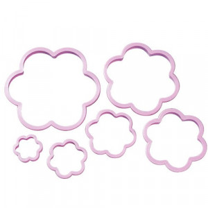 Wilton Utstickare, Flower Cookie Cutter Set